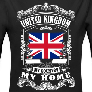 United Kingdom - My country - My home Baby Bodysuits - Longlseeve Baby Bodysuit