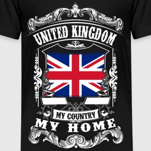 United Kingdom - My country - My home Shirts - Kids' Premium T-Shirt