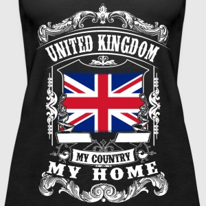 United Kingdom - My country - My home Topper - Premium singlet for kvinner