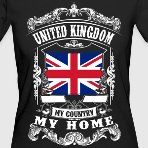 United Kingdom - My country - My home T-Shirts - Women's Organic T-shirt