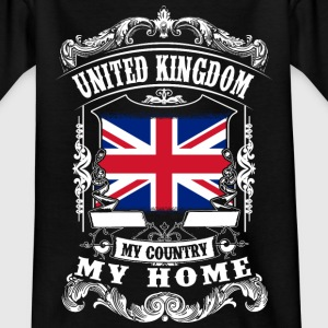 United Kingdom - My country - My home Camisetas - Camiseta adolescente