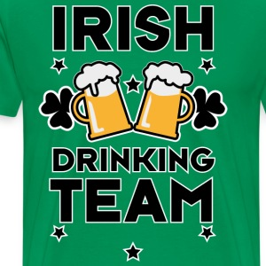 Irish Drinking team member St. Patricks Day Alcoho - Männer Premium T-Shirt