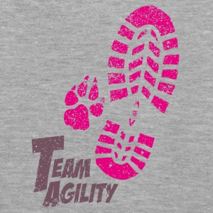Team Agility pink Sweat-shirts - Sweat-shirt à capuche Premium pour femmes