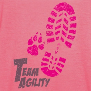 Team Agility pink Tops - Women's Tank Top by Bella