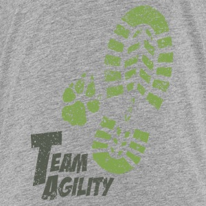Team Agility gruen T-Shirts - Teenager Premium T-Shirt