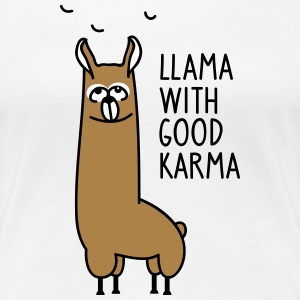 Good Karma - Frauen Premium T-Shirt