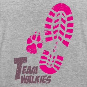 Team walkies pink T-Shirts - Women's Oversize T-Shirt
