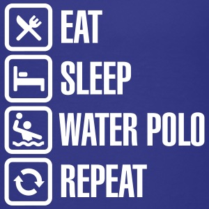 Eat Sleep Water Polo Repeat T-shirts - Premium-T-shirt barn