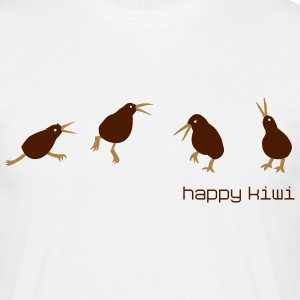 happy kiwi T-Shirts - Männer T-Shirt