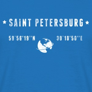 St Petersburg T-shirts - Herre-T-shirt