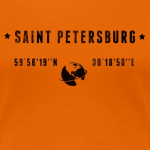 St Petersburg T-Shirts - Frauen Premium T-Shirt