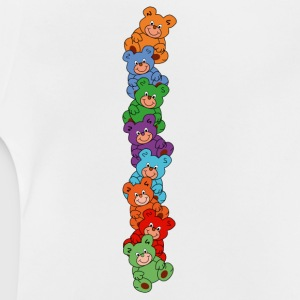 teddy bears vertical Baby Shirts  - Baby T-Shirt