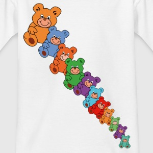 teddy bears diagonal Shirts - Teenage T-shirt