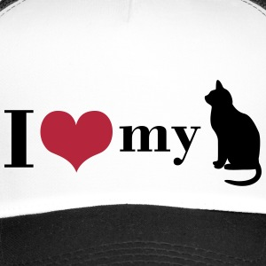 I love my cat Caps & Hats - Trucker Cap