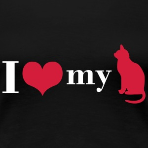 I love my cat T-Shirts - Women's Premium T-Shirt