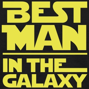 BEST MAN IN THE GALAXY T-Shirts - Männer T-Shirt