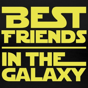 BEST FRIENDS IN THE GALAXY T-Shirts - Frauen Premium T-Shirt