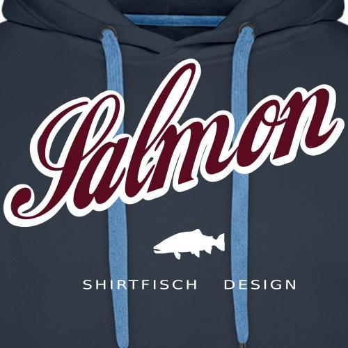 salmon shirt design