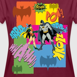 DC Comics Batman Robin Dynamisches Duo Retro - Frauen Oversize T-Shirt