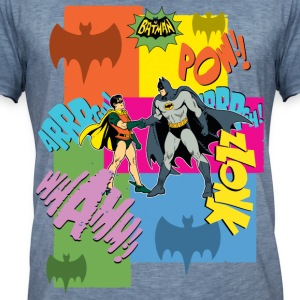 DC Comics Batman Robin Dynamic Duo Vintage - Vintage-T-skjorte for menn