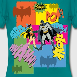 DC Comics Batman Robin Dynamic Duo Vintage - Vrouwen T-shirt