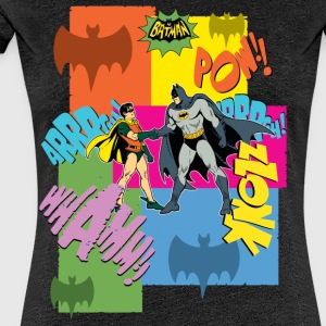 DC Comics Batman Robin Dynamisches Duo Retro - Frauen Premium T-Shirt