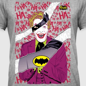 DC Comics Batman Joker Mashup - T-shirt vintage Homme