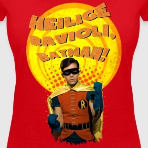 DC Comics Batman Robin Boy Wonder Quote - T-skjorte med V-utsnitt for kvinner
