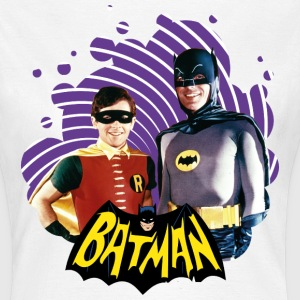 DC Comics  Robin Retro Dynamisches Duo - Frauen T-Shirt