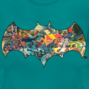 DC Comics Batman Robin Fight Crime Bat Symbol - Vrouwen T-shirt