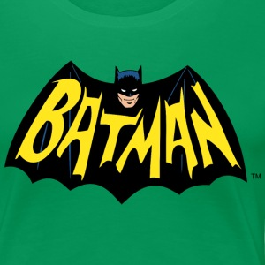 DC Comics Batman Wings Cool Logo Lettering - Premium T-skjorte for kvinner