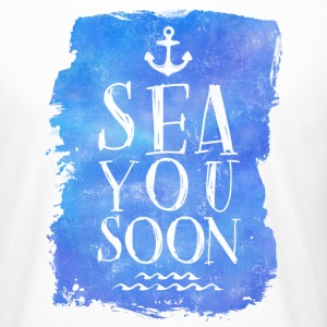 SEA YOU SOON  T-Shirts - Men's Long Body Urban Tee