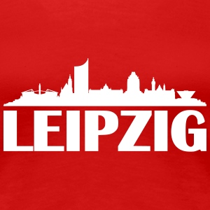 Skyline Leipzig Name T-Shirts - Frauen Premium T-Shirt