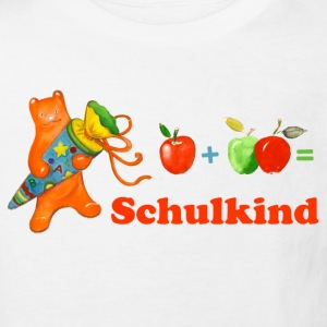 Schulkind  - Kinder Bio-T-Shirt