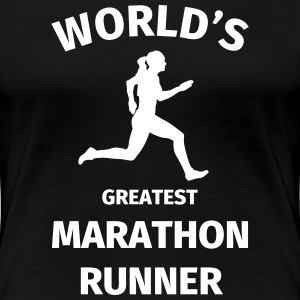 World's Greatest Marathon Runner T-Shirts - Frauen Premium T-Shirt