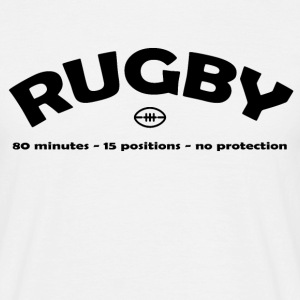 Rugby Positions T-Shirts - Men's T-Shirt