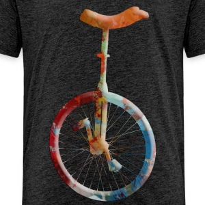 unicycle T-shirts - Premium-T-shirt tonåring