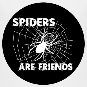 spiders are friends Shirts - Teenage Premium T-Shirt