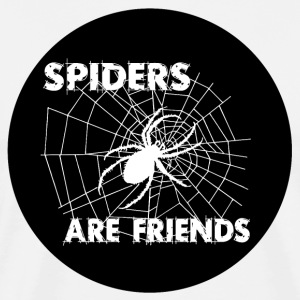 spiders are friends T-Shirts - Men's Premium T-Shirt