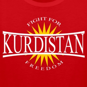 Kurdistan Fight for Freedom - Kurdistan Wear - Männer Premium Tank Top