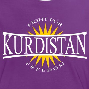 Kurdistan Fight for Freedom - Kurdistan Wear - Frauen Kontrast-T-Shirt