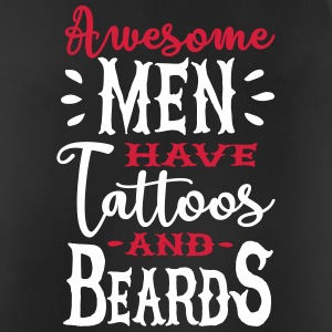 Awesome men have tattoos and beards 2clr Sportbekleidung - Männer Tank Top atmungsaktiv