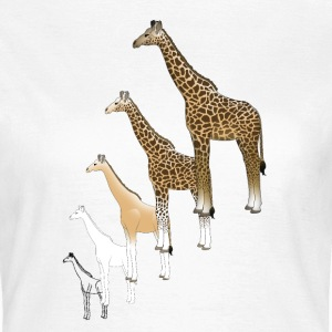 Giraffe drawing T-Shirts - Women's T-Shirt