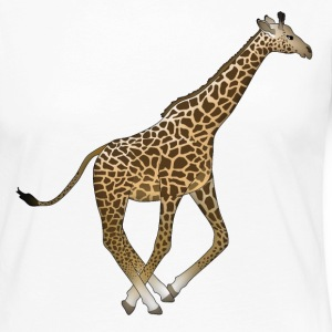 Run giraffe Long Sleeve Shirts - Women's Premium Longsleeve Shirt