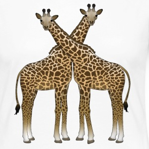 Two giraffes Long Sleeve Shirts - Women's Premium Longsleeve Shirt