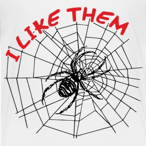 II like spiders Shirts - Teenage Premium T-Shirt