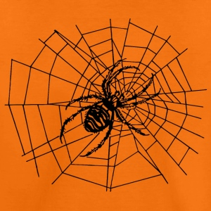 spider in the net Shirts - Teenage Premium T-Shirt