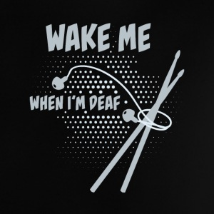 Drummer: Wake me when I'm deaf Baby shirts - Baby T-shirt