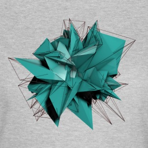 Abstract blue Star T-Shirts - Frauen T-Shirt