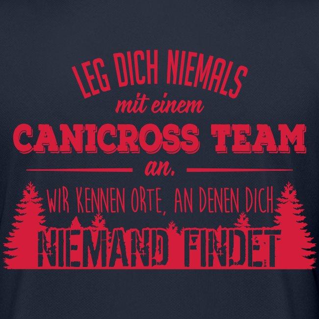 Canicross Sport Shirt Frauen